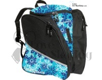 Aqua Snowflake Transpack Ice Skating Bag