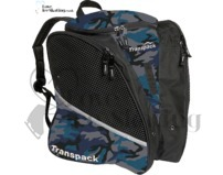 Blue Urban Camo Ice Skating Bag by Transpack 6682-39