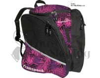 Transpack Pink & Purple Palm Print Ice Skating Bag 6682-55