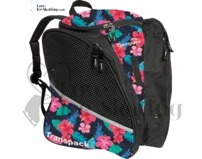 Transpack Ice Skating Bag Pink Hibiscus