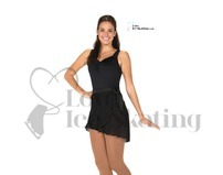 Jerry's 301 Black Georgette Cut Wrap Ice Skating Skirt