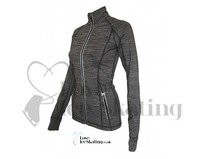 ES Pro Performance Slim Fit Jacket Dark Grey Melange