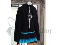 Thuono Black & Blue Thermal Ice Skating Dress