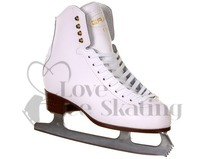 Graf 500 White Figure Ice Skates - Junior