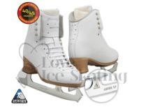 Jackson Freestyle Fusion Figure Ice Skate White