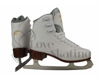 Graf Bolero White Ice Skates  Youth