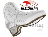 Edea Ice Fly Ladies White Figure Skates Boots