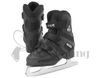Boys Softec- Tri-Grip Jackson Black Ice Skate Youth ONE ONLY