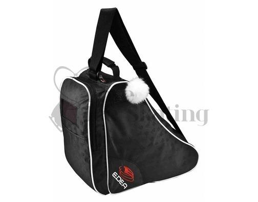 Edea Jacquard Black Ice Skate Bag
