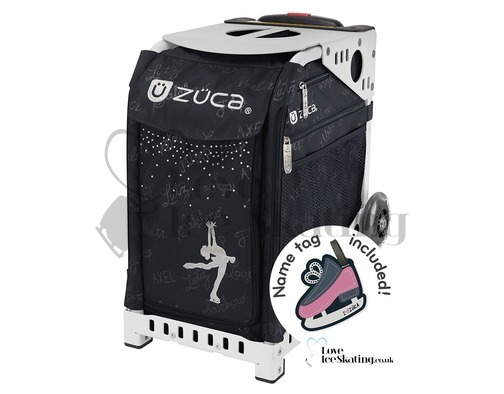 Zuca White Frame with Ice Queen Insert