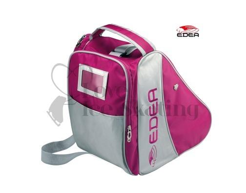 Edea Pink & Silver Ice Skating Bag Love