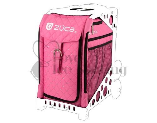 Zuca Hot Pink with Rhinestones Insert
