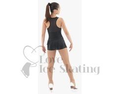 Intermezzo Pink Ice Figure Skating shorts with skirt- Skort