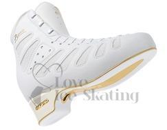 Edea Piano Ice Skating Boots White - Junior