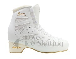Edea Piano Ice Skating Boots White - Senior