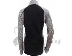 ES Melange Ultra lightweight long sleeve top Grey