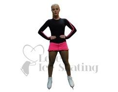 Thuono Linx Thermal Ice Skating Skirt Pop Star